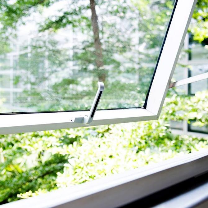 Ahorra energía con las ventanas oscilobatientes