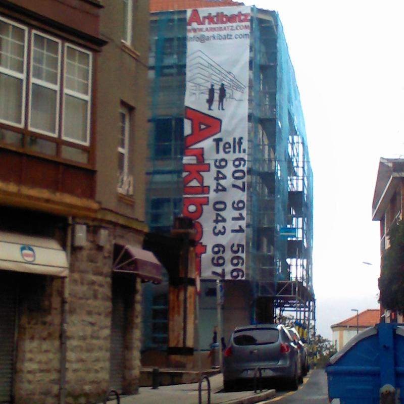 Reforma de fachadas: Servicios  de Arkibatz