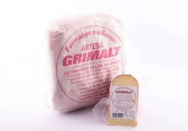 Paquete queso Grimalt artesano  0,350-0,400 Kg