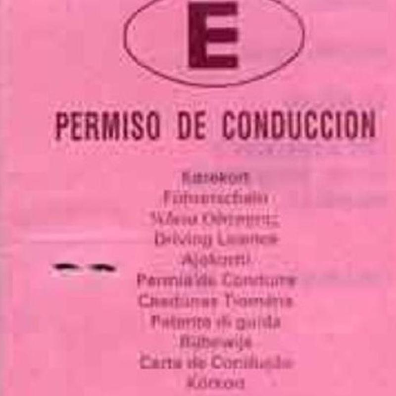 Permisos de conducir: Servicios de Psicotécnicos Simón Hernández