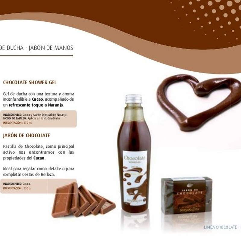 Gel de ducha Chocolate y Naranja : Productos de PLUS CLINIC