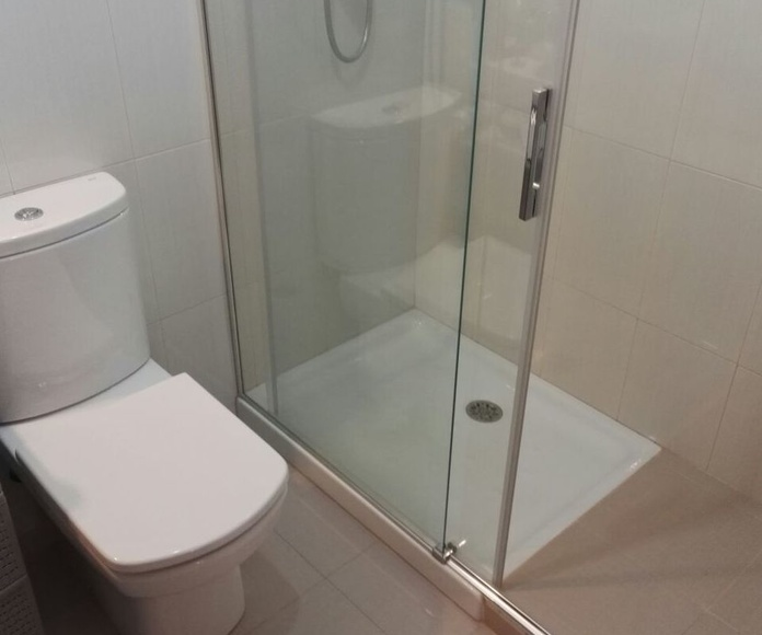 Cambio plato ducha