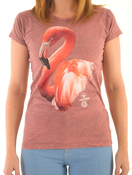 Camiseta Mujer Flamingo / Flamingo Women´s T-Shirt: Productos de BELLA TRADICION