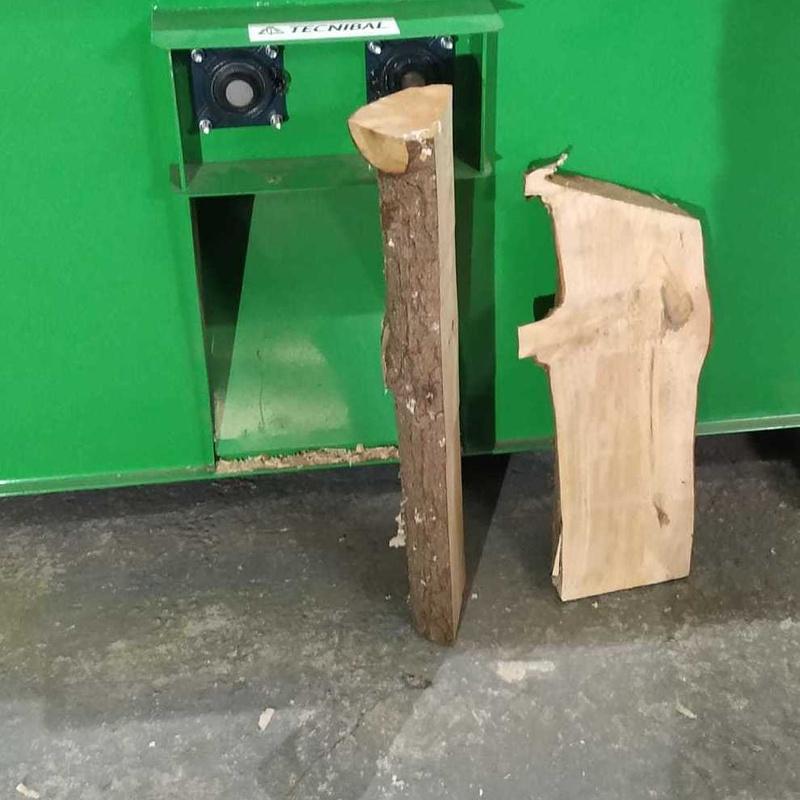 Virutadora de madera