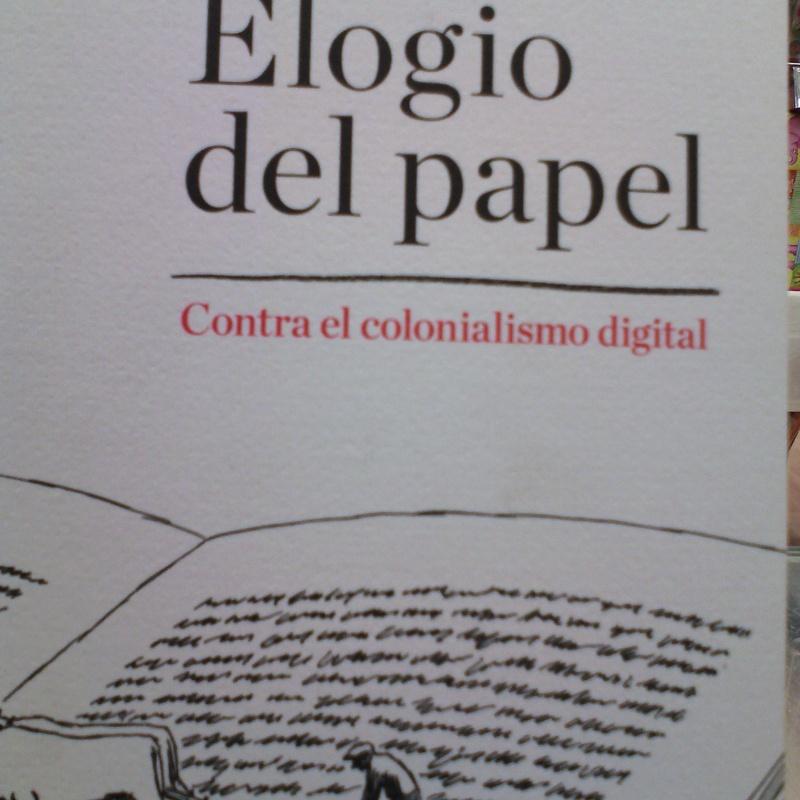 ELOGIO DEL PAPEL