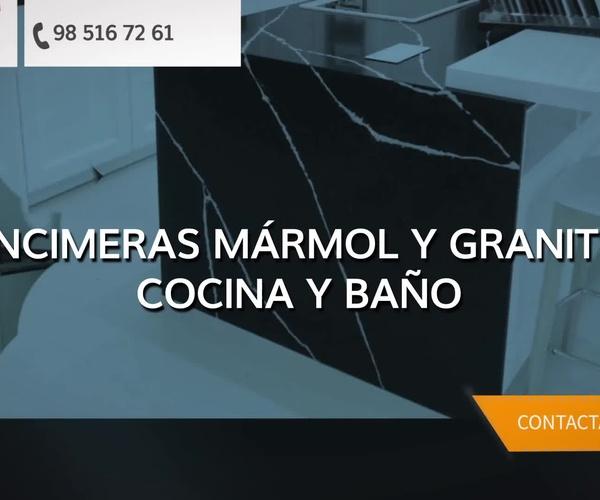 Mármoles y granitos en Gijón | Mármoles Paz, S.L.