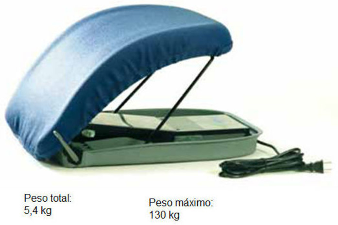 Cojín para incorporación eléctrico Asturias
