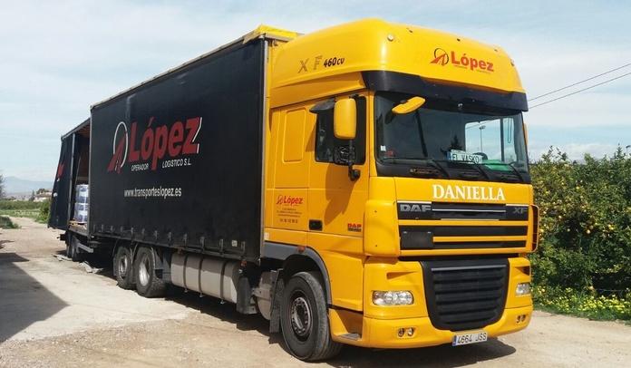 Grupaje: Servicios de Transportes López