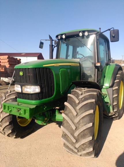 John Deere 6620: Nuestros tractores de Tractores José Carlos Martín