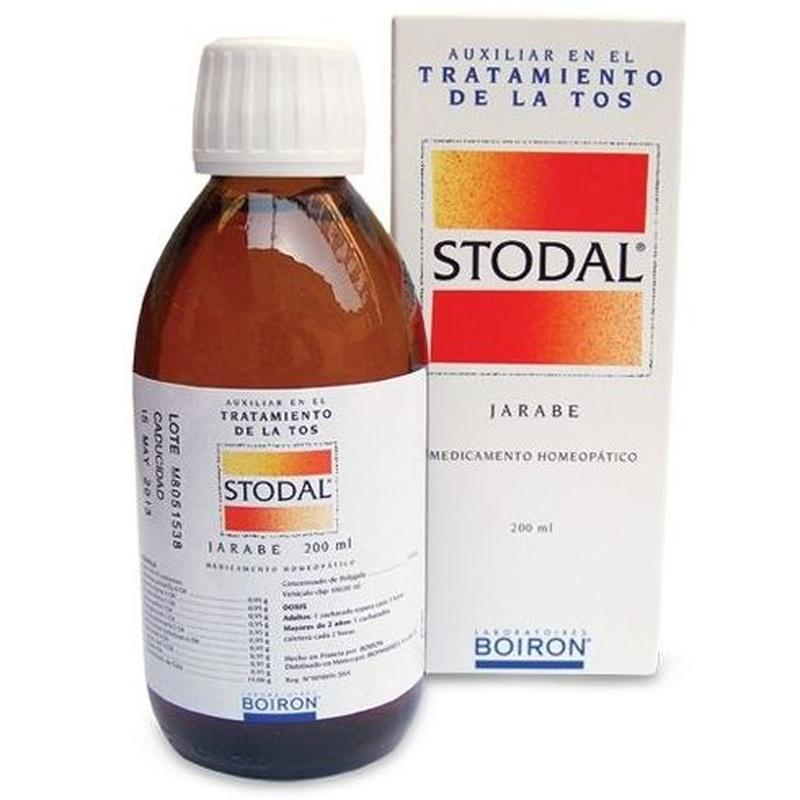 Boiron Stodal jarabe: Catálogo de Farmacia Las Cuevas-Mª Carmen Leyes