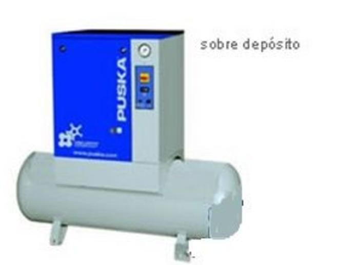 Compresores rotativos de tornillo serie PKE sin secador sobre depósito