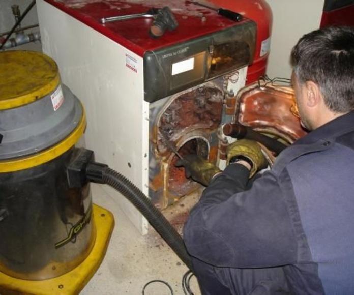 Limpieza calderas y chimeneas domésticas (leña, gasoil o gas): Servicios de limpieza de Limpiadora del Valles de 1965, S.C.P.