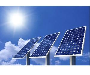 Montaje de placas solares