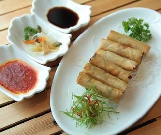 Arroz y pasta: Carta de Restaurante Sowu