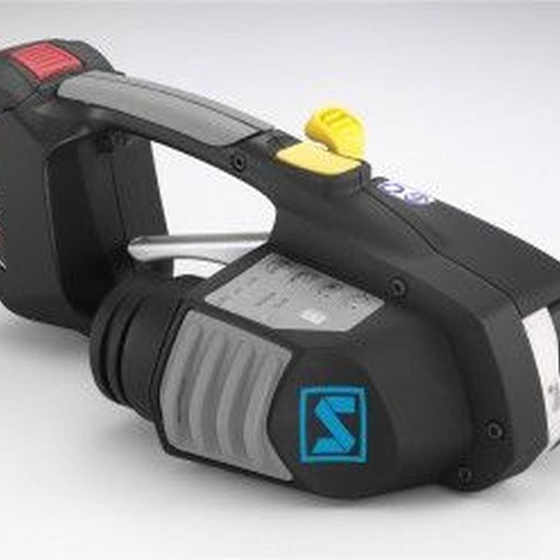 Herramientas fleje plástico. Eléctricas - Batería: Productos de Sistemas de Embalaje Miguel D, S.L.