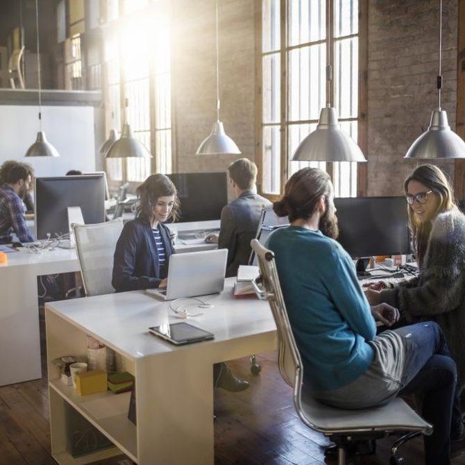 Los accidentes laborales en oficinas y despachos