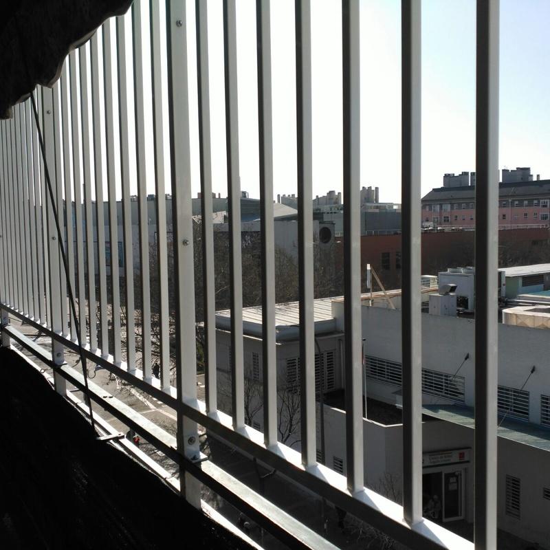 Rejas para terrazas: Servicios y Productos de Cerrajería Avelino Izquierdo, S.L.