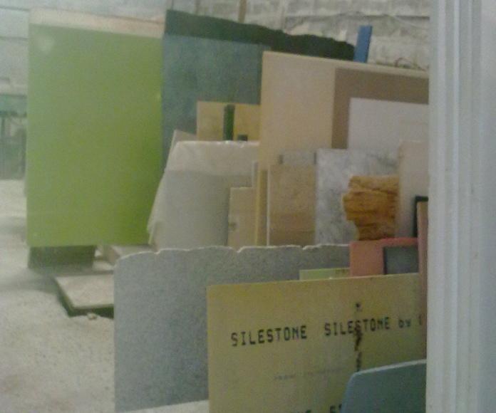 Colores de cuarzo en tablas