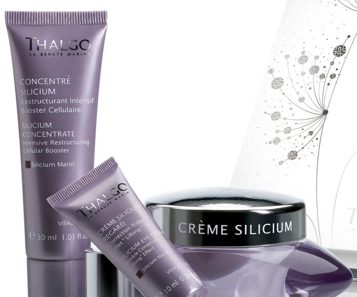 Linea Silicium Marin: servicios y productos de MANDALA Tu Centro De Belleza