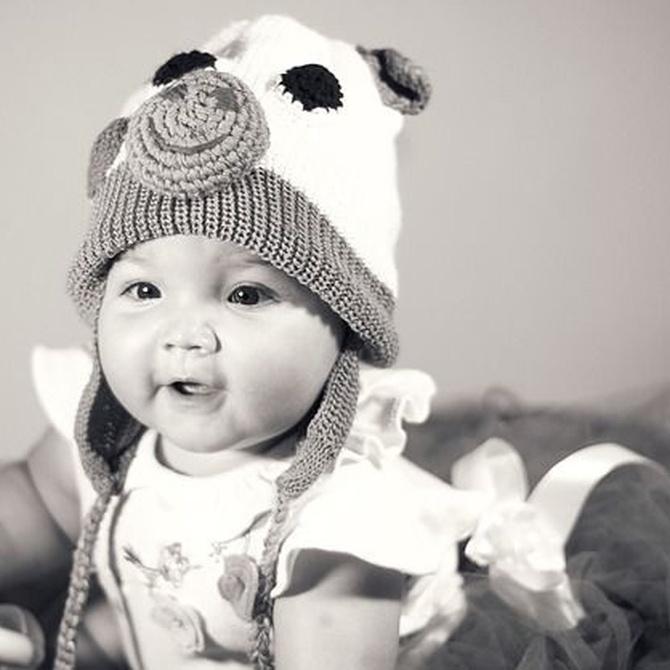 ¿Cómo debes abrigar a tu bebé en invierno?
