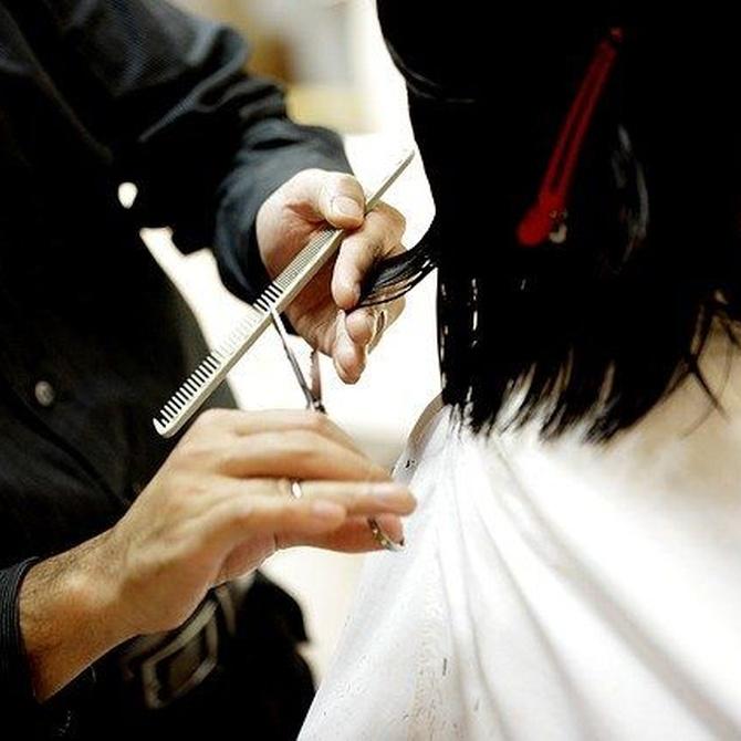 Que te corten el cabello con una tijera Sidca