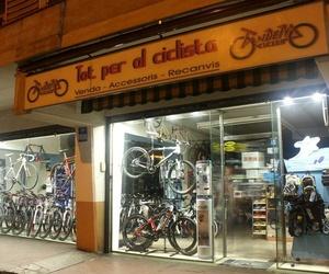 Tienda de bicicletas situada en Granollers
