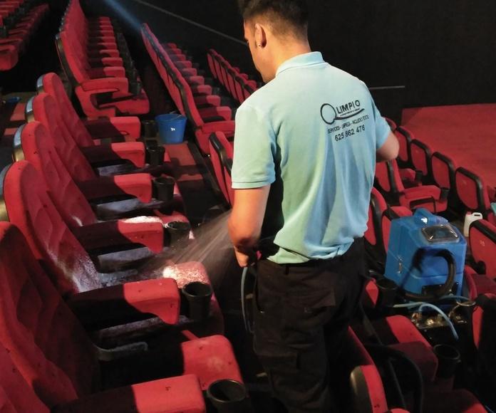 Limpieza textil: Servicios de Q Limpio