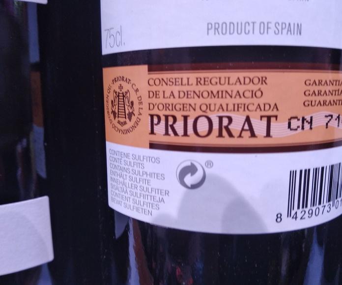 Vinos de Priorat en Bilbao
