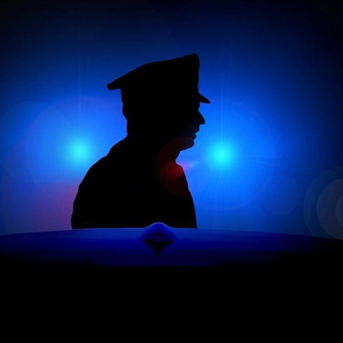 El perfil de un policía