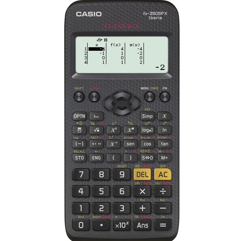CASIO FX-350SPX: Productos y Servicios de Rosan