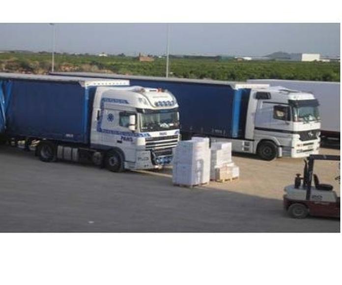 Servicio de transporte con grupaje: Servicios de Lotrammsa