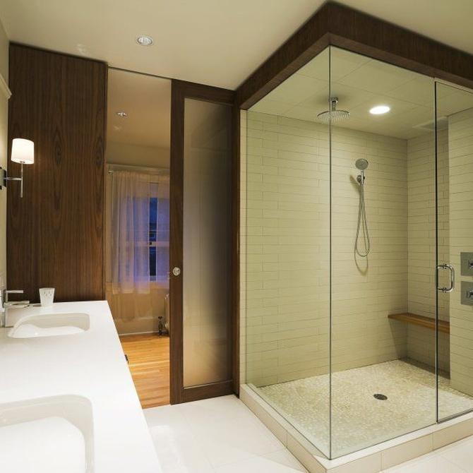 Las mamparas de baño