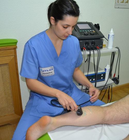 Tratamientos de electroterapia