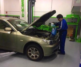 Cambio de neumáticos: Servicios de Servicio Integral del Automóvil Inyeauto, S.L.
