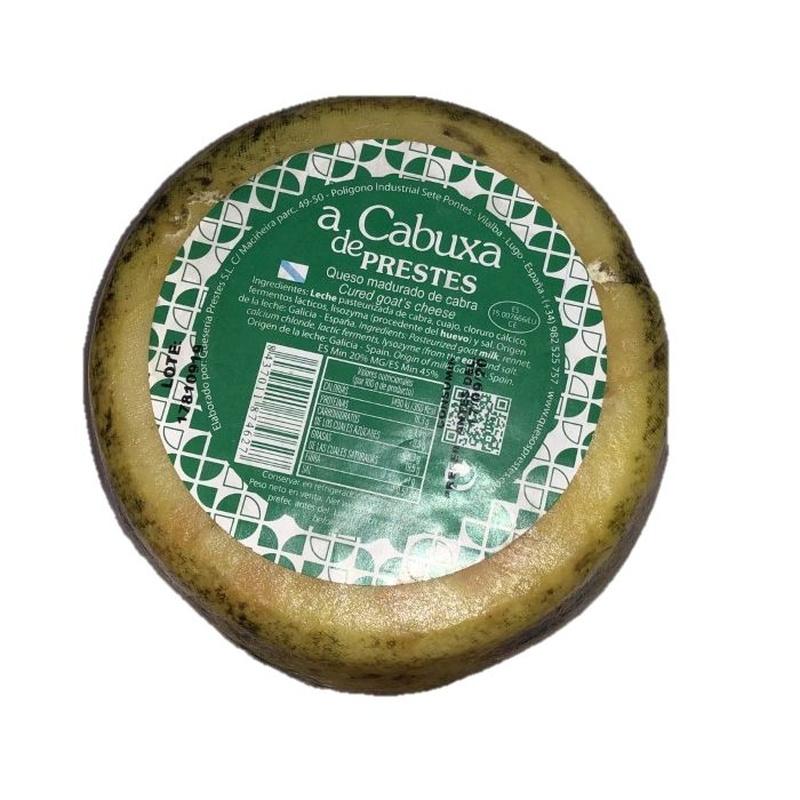 Cabuxa Queso madurado de cabra: Productos de Manxares da Chaira, S.L.