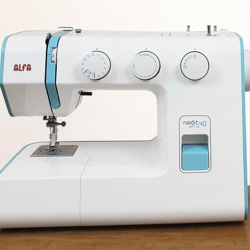 Alfa Next 40 Spring: Productos de Maquinas de Coser - Servicio técnico y repuestos