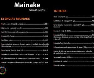 Todos los productos y servicios de Vinos y tapas gourmet: Mainakê Casual Gastro