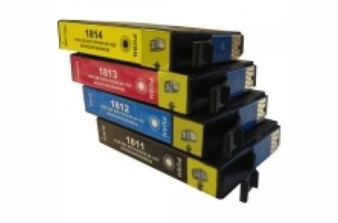 TINTA EPSON COMP ET1811/T1801/1812/1802/1813/1803/1814/180418XL BLACK/CYAN : Productos y Servicios de Stylepc