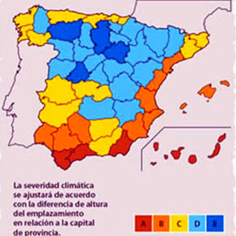 MAPA CLIMÁTICO DE ESPAÑA