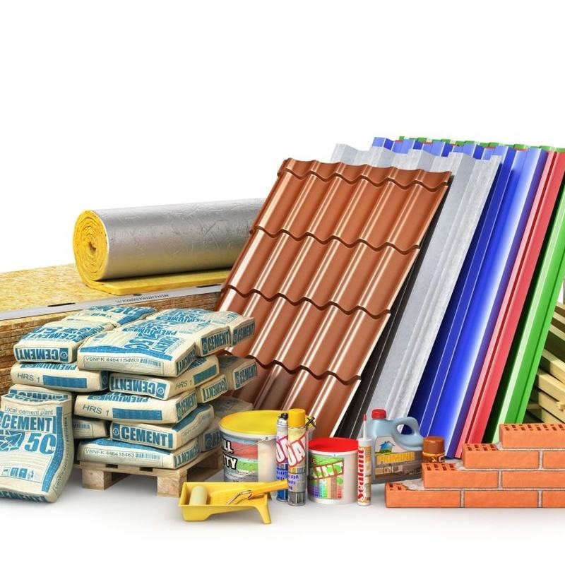Materiales de construcción: Productos de Rocha Suministros
