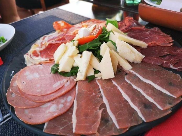 Platos fríos: Carta de Rustico Pizza e Vino