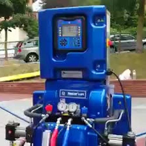 Venta de maquinaria para poliurea en Madrid centro
