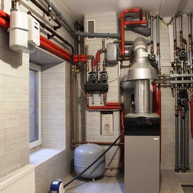 Instalación y mantenimiento de calderas comunitarias