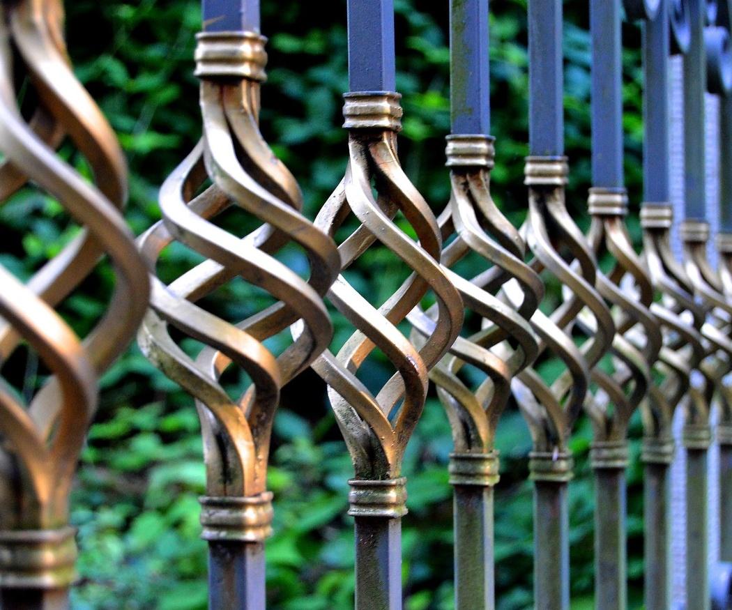 La seguridad y el estilo de la forja