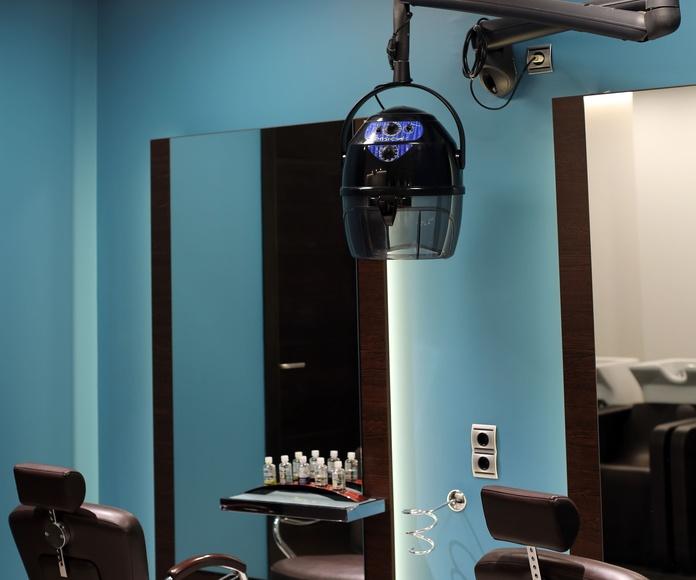 Reformas en peluquería