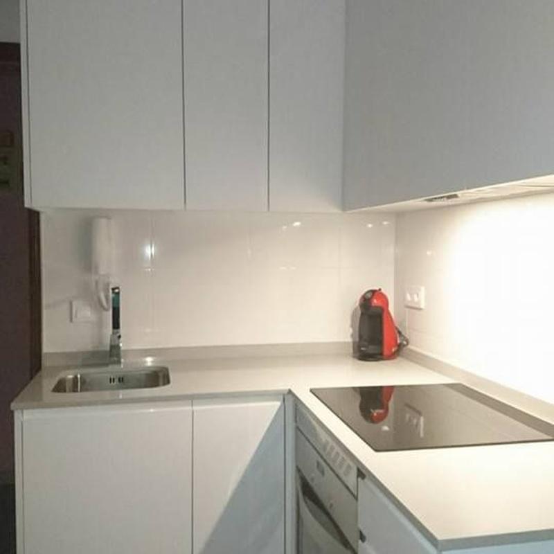 Reformas de baño y cocina: Servicios de Armonía Ábaco Construcciones y Servicios
