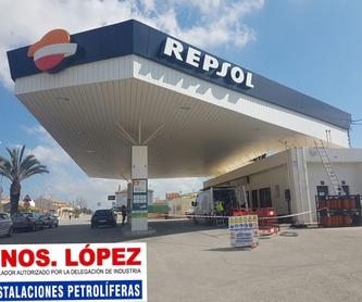 Pruebas de Estanqueidad Depósitos y Tuberias: Servicios de Instalaciones Petroliferas Hnos. López