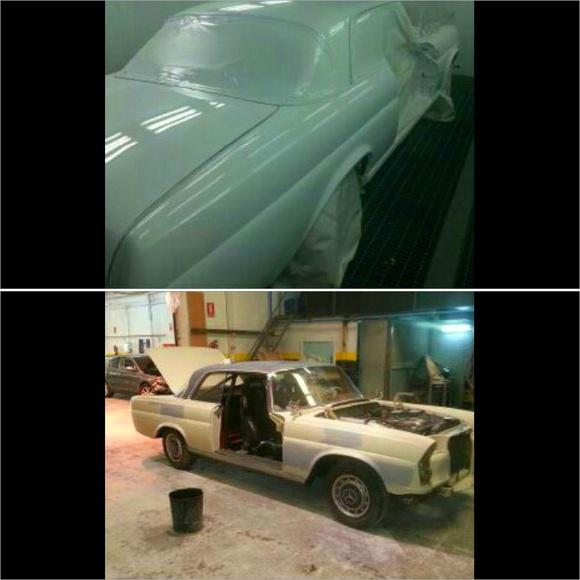 Reparación chapa y pintura: Servicios de Talleres García Vadillo