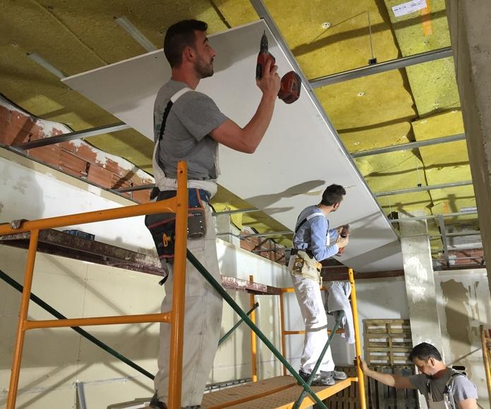 Insonorizaciones y acondicionamientos acústicos: Servicios de Crea Hogar