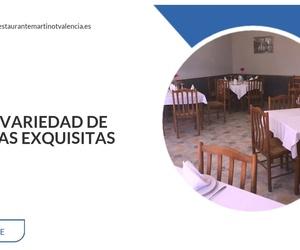Dónde comer paella en Valencia | Restaurante Martinot
